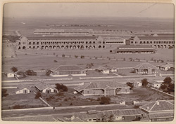 Bird's eye view (with Napier Barracks) [Karachi]. 27